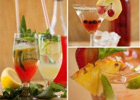 Gudgu cocktails
